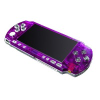Frontal Bling PSP 3000 -Lila Transparente