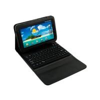 Funda Soporte y Teclado Bluetooth Galaxy Tab -Negro