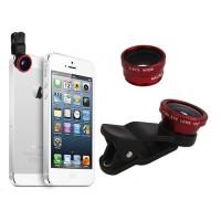 Clip Universal Lentes 3 en 1 iPhone/Smartphone/Tablet